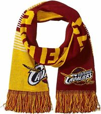 CLEVELAND CAVS CAVALIERS Forever Collectibles NBA Reversible Split Logo Scarf