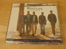 Westlife – Unbreakable - CD Single with Poster