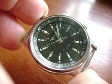 Poljot  Signal mens wrist watch Alarm 18 J USSR RARE Serviced Mens