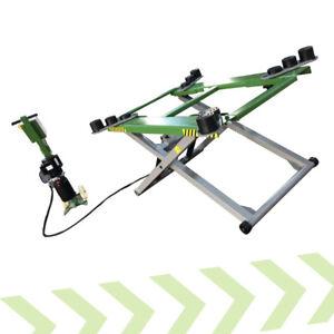 Mobile Home Garage Car Scissor Lift Strongman Tamar 2.8 Ton Mid Rise  Ramp 240v