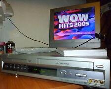 LETTORE DVD VCR SONY SLV D900 VIDEOREGISTRATORE Combi VHS+MANUALE+TELECOMANDO -