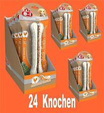 8in1 Delicias Fuerte hueso para Roer L 24 unidades, kauende perros Comida