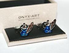 Quill & inchiostro Pentola Design gemelli in confezione regalo Onyx-Art London CK885