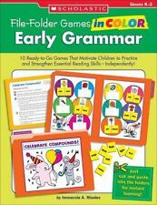 File-Folder Games in Color: Early Grammar: 10 Ready-to-Go Games That Motivate Ch
