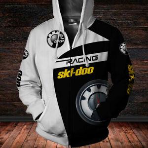 Ski-Doo/Snowmobile/BRP/XRS 800/Men's US 3D Zip Hoodies/BEST GIFT 6/Size S-5XL