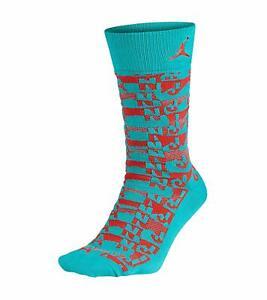 Jordan Mens Xi Air Sneaker Socks 631714-477
