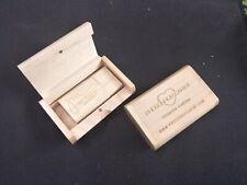 Custom engrave Logo Photography Gift Wooden USB 2.0 3.0 Memory Flash Drive