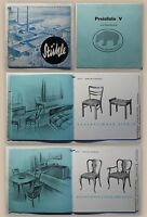 Katalog Bähre Stuhlfabrik Springe Hannover Niedersachsen 1934 Stühle Preisliste