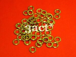 10pcs M5 Titanium / Ti Bolt Washer Gold (Fit Brake, Stem, Bottle Cage, Shifter)