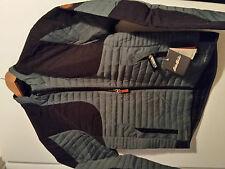 * Eddie Bauer MicroTherm StormDown Field Jacket Med Graphite NWT