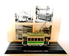 Editions Atlas  Diecast Scale 1/87 Tram TW4 (Herbrand/ A.E.G.)-1894 [b.7519001]