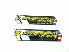 2x Two Brother Heat Resistant Motorcycle Exhaust Pipe Sticker USA Emblem 10cm