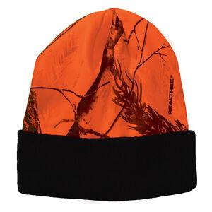 "Realtree All Purpose Mossy Oak Break Up White Snow CAMO Hat 8"" or 12"" Beanie Cap"