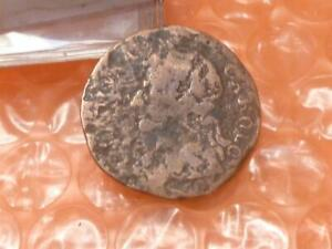 Original 1673 Charles II Colonial Times Farthing #2