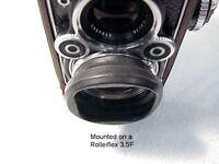 Rollei Rolleiflex Bay II, 2 Collapsible Rubber Hood / Shade | Nice | OEM | $59 |