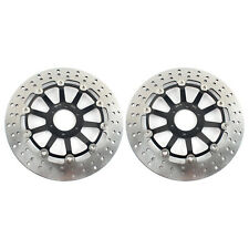 2x Front Brake Discs Rotors for Honda CBR 600 F3 SuperSport 95-98 CBR 400 900 RR