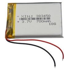 3.7V 700 mAh Polymer Li Po Battery 383450 for Mp4 GPS driving recorder Sat Nav