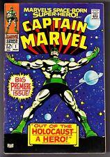 CAPTAIN MARVEL #1 (1968) MARVEL COMICS TAPE ON SPINE
