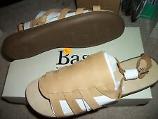 Ladies BASS shoes, KATHY sandals. BRAND NEW in the box. TAN, size 12M.