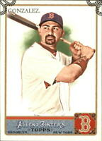 2011 Topps Allen and Ginter Code Cards Baseball Card #120 Adrian Gonzalez