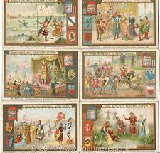 Chromo Liebig Sang. 513 ITA Le Crociate II ANNO 1897