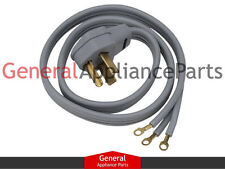 Whirlpool Maytag Kenmore 6' 3 Prong Clothes Dryer P Cord 4319131 4392905 661592