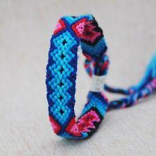 Charm Tibetan Striated Bohemian Weave Bracelet Bangles Knot Rope Budda Handmade