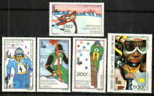 Congo, Peoples Republic Stamp - 80 Winter Olympics Stamp - NH