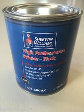 Fondo nero Sherwin Williams primer per carrozzeria auto colore verniciatura 1lt