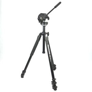 Manfrotto Camera Mount Kit With 2 Way Tilt Head + Tripod 290 + Bag IN The Set