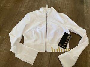Lululemon Cropped Define jacket size 6 NWT Limited Edition