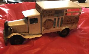 1930s METALCRAFT CORP Pressed Steel Heinz 57 Delivery Truck - As Found! Pics!