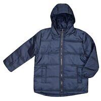 NEW Boys Freaky Padded Puffa Jacket School Winter Coat Blue Age 3 4 5 6 7 8 9 10