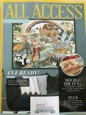 Anita Goodesign ALL ACCESS VIP Club APRIL 2019 Embroidery Design CD & BOOK -