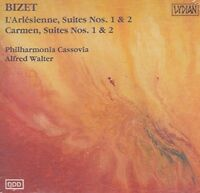 L'Arlesienne 1 & 2 / Carmen 1 & 2 by Bizet; Walter; Philharmonia Cassovia