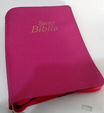 Forro para Biblia, 40,5 cm x 27 cm Super Gigante - Rosada