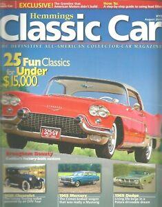 Hemmings Classic Car Magazine August 2005 Fun Classics Brougham 1965 Mercury