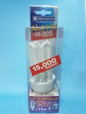 nelson aladdin warm white 15,000 hour 15 w Energy Saver globe