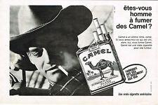 PUBLICITE ADVERTISING 035  1964   CAMEL   cigarettes