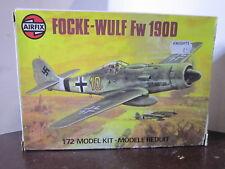 MAQUETTE 1/72 VINTAGE AIRFIX 1976 FOCKE WULF FW 190D