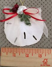 Sand Dollar Christmas Ornament Can Be Used As Home Decor-Bring in The Beach-3""