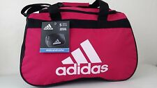 NWT ADIDAS Diablo Small II Duffel Bag Bold Pink Sport Gym Travel Carry On Expand