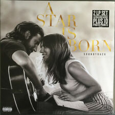 LADY GAGA BRADLEY COOPER A STAR IS BORN DOUBLE VINYL LP + PRINTS SOUNDTRACK