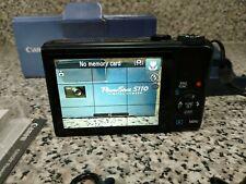 Canon PowerShot S110 12.1MP Digital Camera - Black ORIGINAL BOX with extras