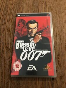 From Russia With Love (Sony PSP, 2006) Complete With Manual - FREE UK P&P