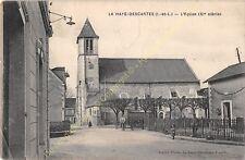 CPA 37160 LA HAYE DESCARTES Eglise Edit ALGRET ca1915