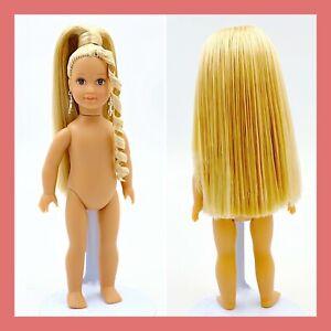 "❤️American Girl Mini Julie Blonde 6"" Doll Styled Nude OOAK❤️"