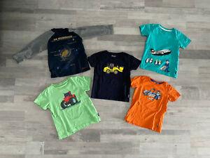 5 Shirts Jako-o Jungen, Größe 104/110, guter Zustand