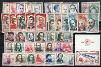 PP135483/ FRANCE – YEARS 1960 - 1964 MINT MNH / MH MODERN LOT – CV 134 $