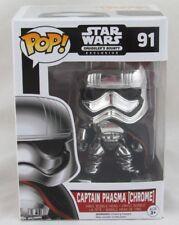 Funko Pop! Star Wars Captain Phasma (Chrome) #91 Smugglers Bounty Exclusive